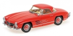 Mercedes Benz 300 SL Roadster W198 Red 1:18 180039