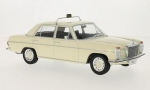 Mercedes Benz 220 D/8 (W115) Taxi White 1:18 18055