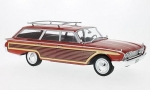 Ford Country Squire Red 1:18 18074