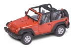Jeep Wrangler Rubicon Red 1:24 22489C