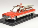 Cadillac S&S Ambulance 1966 Red/White 1:43 ...