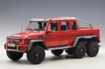 Mercedes Benz G63 AMG 6x6 2013 Red 1:18 76304