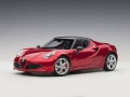 Alfa Romeo 4C Spider with removable Top 1:18 70142