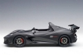 Lotus 3-Eleven - Matt Black w/ Gloss Bl 1:18 75391