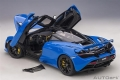 McLaren 720S 2018 Paris Blue 1:18 76073