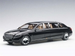 Mercedes Maybach S 600 Pullman Black 20 1:18 76297