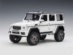Mercedes Benz G500 4X4 2 Gloss White 1:18 76316