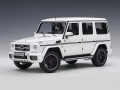 Mercedes Benz AMG G63 2017 Gloss White 1:18 76321