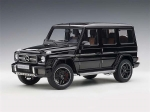 Mercedes Benz AMG G63 2017 Gloss Black 1:18 76322