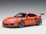 Porsche 911 991 GT3 RS 1:18 Lava Orange 1:18 78168
