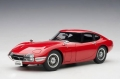 Toyota 2000 GT Coupe 1965 Red 1:18 78751