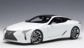 Lexus Lc500 Metallic White  1:18 78846
