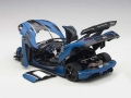 Koenigsegg One 1 Mat Blue Carbon Black  1:18 79018