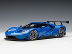 Ford GT LeMans Plain Body Version blue 1:18 81812