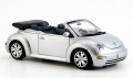 VW New Beetle Cabrio Silver 1:18 825924107