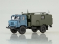 GAZ-66 KSM P-142N  Command-Headquarter 1:43 AI1163