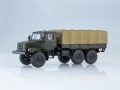 URAL-4322 flatbed truck with tent khak 1:43 AI1169