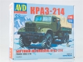 KRAZ-214 flatbed truck model kit 1:43 1343AVD