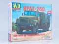 KRAZ-260 flatbed truck early version  1:43 1348AVD