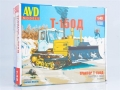 Caterpillar tractor T-150 model kit 1:43 3012AVD