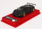Ferrari 488 GTE matt black and gold 1:43 BBRC179MB