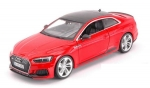 Audi RS 5 coupe red 1:24 21090R