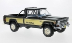 Jeep J10 Honcho Black-Gold 1:18 BOS264