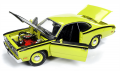 Plymouth Duster 340 Hard Top 1971 Gre 1 1:18 AMM11