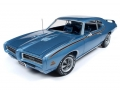 Pontiac GTO Judge (MCACN) 1969 Blue 1:18 AMM1171