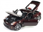 Nissan 350Z Coupe 2003 wine red metalli 1:18 AW240