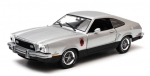 Ford Mustang II Stallion 1976  silver/b 1:18 12890