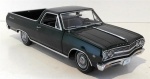 Chevrolet El Camino 1965 Green Metal 1:18 A1805408