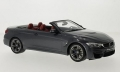 BMW M4 Convertible F83 2015 Grey Metall 1:18 GT081