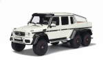 Mercedes Benz G63 AMG 6X6 White 1:18 GT100