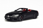 Mercedes Benz AMG SL 63 Roadster Black 1:18 GT117