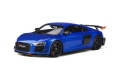 Audi R8 Performance Parts 2018 blue 1:18 GT254