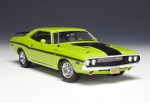 Dodge Challenger in Sublime with Black  1:24 50769