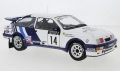 Ford Sierra RS Cosworth No.14 Rallye 1:18 18RMC045
