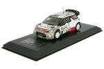 Citroen DS3 WRC 2015 Kris Meeke Paul 1:43 DCC15012