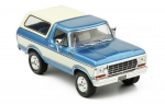 Ford Bronco 1978 Metallic Light Blue a 1:43 PRD045
