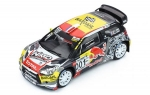 Citroen DS3 WRC 2016 Paul Ricard Rally 1:43 RAM654
