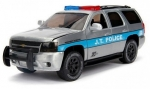 Chevy Tahoe J.T. Police 2010 silve 1:24  253745003