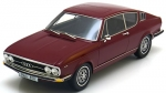 AUDI 100 Coupe S 1970 dark red 1:18 180002
