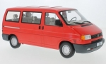 VW Bus T4 Caravelle 1992  red 1:18 180261