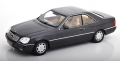 Mercedes Benz 600 SEC C140 1992 anthra 1:18 180341
