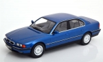 BMW 740i E38 1st series 1994 blue meta 1:18 180362