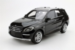 Mercedes Benz ML 63 AMG Black V8 2012 1:18 LS004A
