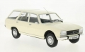 Peugeot 504 Break 1976 White 1:18 18035
