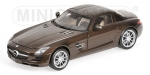 Mercedes Benz SLS AMG 2010 brown m 1:18 100039028