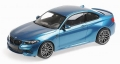 BMW M2 Competition 2019 blue metall 1:18 155028002